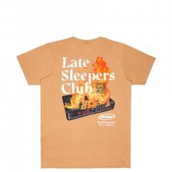 Tee Shirt Jacker Late Sleepers Biscuit 2021 pour