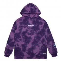 Sweat Jacker Money Makers Purple Tie Dye 2021 pour
