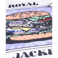 Tee Shirt Jacker Royal Bacon White 2021