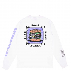 Tee Shirt Jacker Royal Bacon White 2021 pour