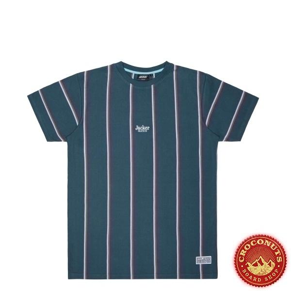Tee Shirt Jacker Super Stripes Navy 2021