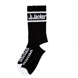 Chaussettes Jacker After Logo Socks Black 2021 pour