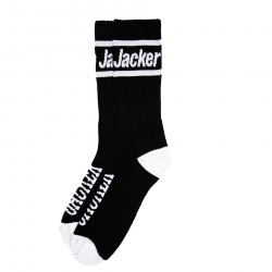 Chaussettes Jacker After Logo Socks Black 2022 pour