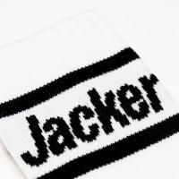 Chaussettes Jacker After Logo Socks White 2021