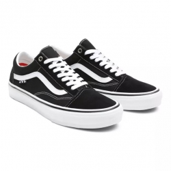 Shoes Vans Skate Old Skool Pro Black White 2021 pour