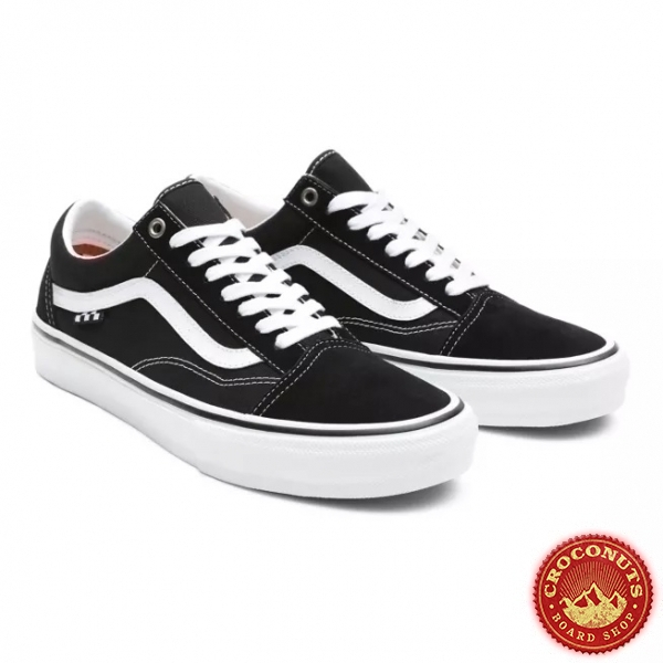 Shoes Vans Old Skool Pro Black White 2021
