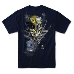 Tee Shirt Primitive X Marvel Wolverine Navy 2021 pour homme