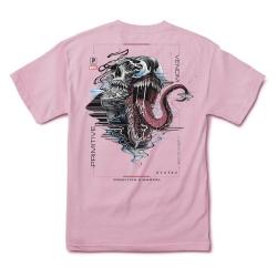 Tee Shirt Primitive X Marvel Venom Pink 2021 pour homme