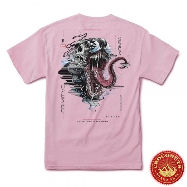 Tee Shirt Primitive X Marvel Venom Pink 2021