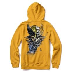 Sweat Primitive X Marvel Wolverine Gold 2021 pour homme