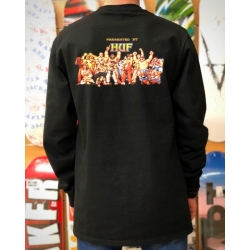 Tee Shirt Huf X Street Fighter ll Ending Black 2021 pour
