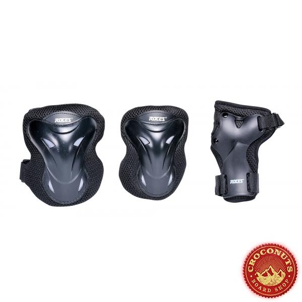 Pack de Protections Roces Black 2021