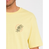 Tee Shirt Volcom Gridlock Dawn Yellow 2021