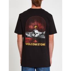 Tee Shirt Volcom Dither Black 2021 pour