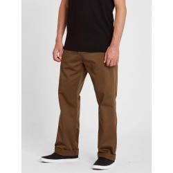 Pantalon Volcom Frickin Skate Chino Vintage Brown 2021 pour