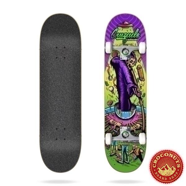 Skate Complet Cruzade Deathskull 8.25 2021
