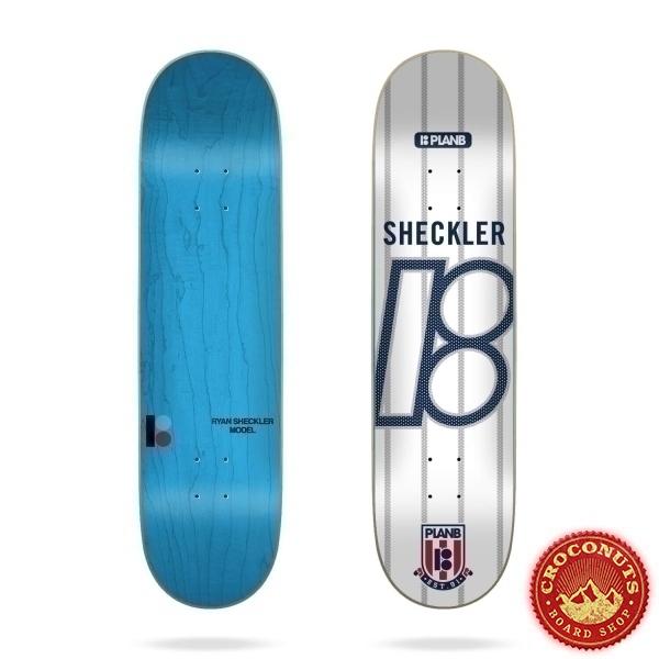 Deck Plan B College Sheckler 8.125 2021