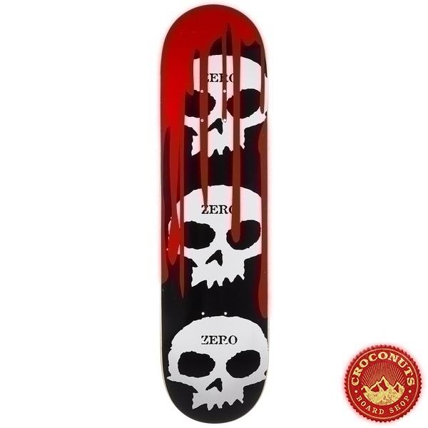 Deck Zero 3 Skull Blood Black White Red 8 2020