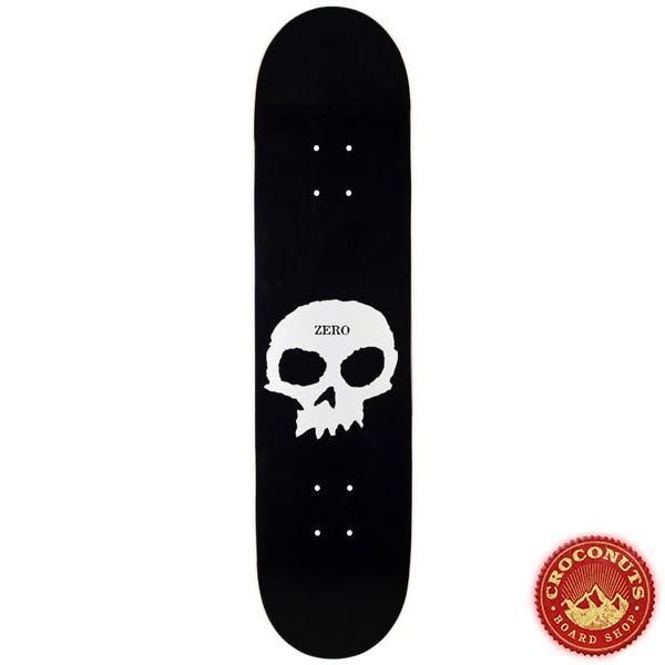 Deck Zero Single Skull Black White 8.25 2020