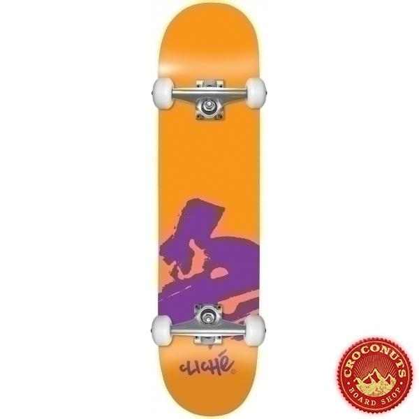 Skate Complet Cliche Europe Orange 7.875 2021