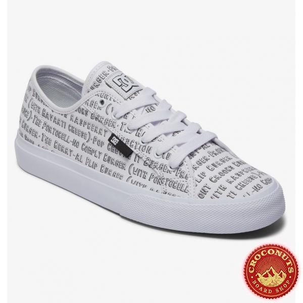 Shoes DC Shoes Bob's Burgers Manual White Multi 2021