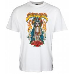 Tee Shirt Santa Cruz Santa Muerte White 2021 pour