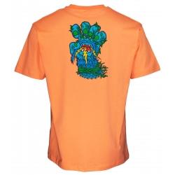 Tee Shirt Santa Cruz Bigfoot Screaming Hand Salmon 2021 pour