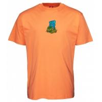 Tee Shirt Santa Cruz Bigfoot Screaming Hand Salmon 2021