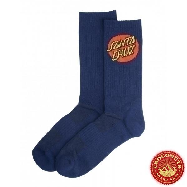 Chaussettes Santa Cruz Dot Socks Dark Navy 2021