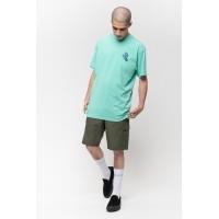 Tee Shirt Santa Cruz Screaming hand Chest Jade Green 2021