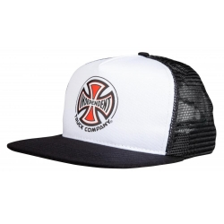 Casquettes Independent Truck Co Mesh White Black 2021 pour