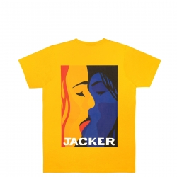 Tee Shirt Jacker Color Passion Yellow 2021 pour