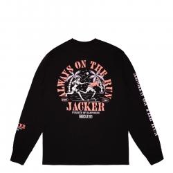 Tee Shirt Jacker Great Escape LS Black 2021 pour