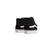 Shoes Vans Skate Sk8-Hi Black White 2021