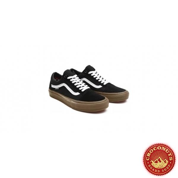 Shoes Vans Skate Old Skool Pro Black Gum 2021