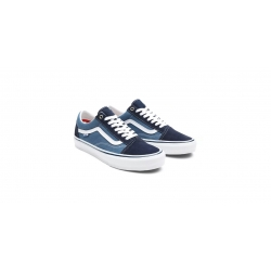 Shoes Vans Skate Old Skool Pro Navy White 2021 pour