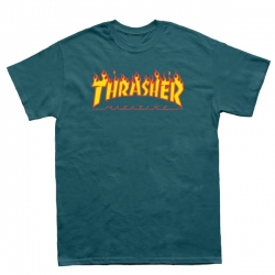 Tee Shirt Thrasher Flame Galapagos 2021 pour