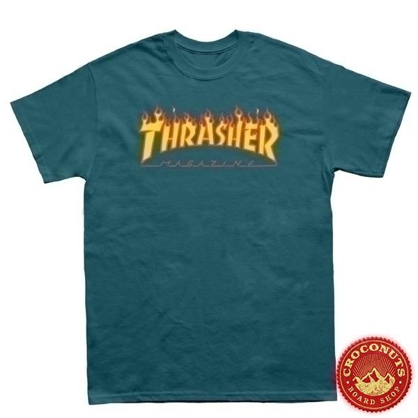 Tee Shirt Thrasher Flame Galapagos 2021