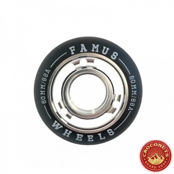 Roues Famus Silver Black 60mm 2021