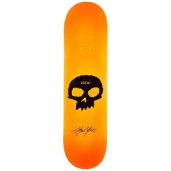 Deck Zero Cole Signature Single Skull Orange 8.25 2020 pour homme