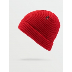 Bonnet Volcom Sweep Lined Red 2021 pour homme, pas cher