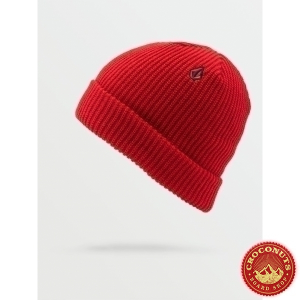 Bonnet Volcom Sweep Lined Red 2021