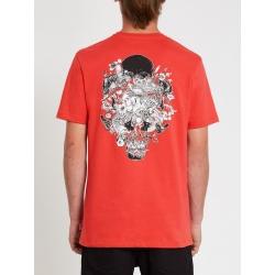 Tee Shirt Volcom Fortifem FA Carmine Red 2021 pour , pas cher