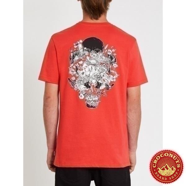 Tee Shirt Volcom Fortifem FA Carmine Red 2021