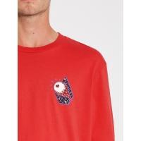 Tee Shirt Volcom Freak City Carmine Red 2021