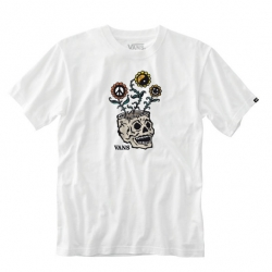 Tee Shirt Vans Sprouting White 2021 pour homme