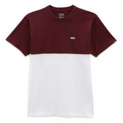 Tee Shirt Vans Colorblock Port 2021 pour homme