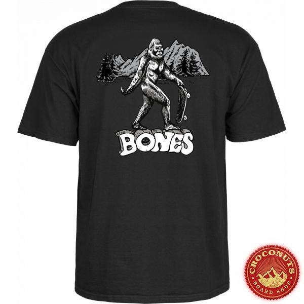 Tee Shirt Bones Heritage Big B Black 2021