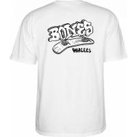 Tee Shirt Bones Heritage Boneless White 2021