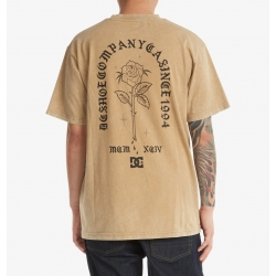 Tee Shirt DC Shoes Singled Out Incense Acid Wash 2021 pour homme
